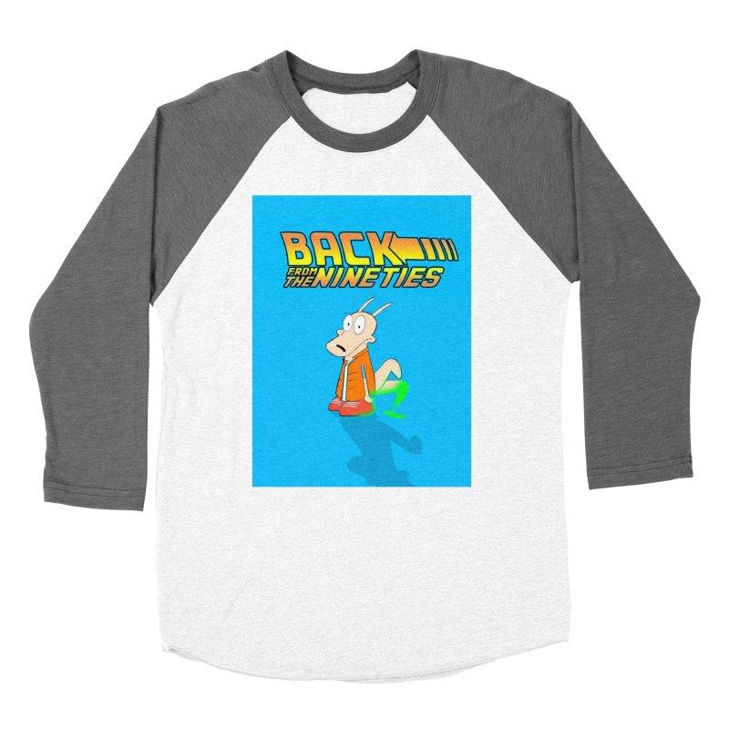Back From The Nineties  Women's Baseball Triblend Longsleeve T-Shirt by TheImaginativeHobbyist's Artist Shop