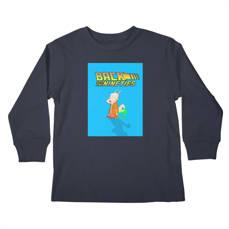 Back From The Nineties  Kids Longsleeve T-Shirt by TheImaginativeHobbyist's Artist Shop