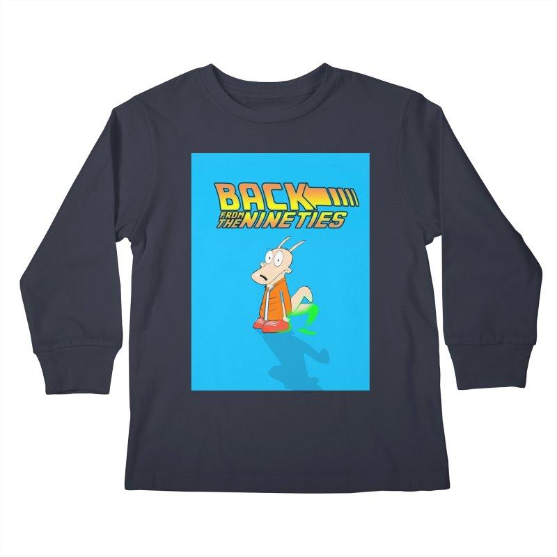 Back From The Nineties  Kids Longsleeve T-Shirt by TheImaginativeHobbyist's Artist Shop