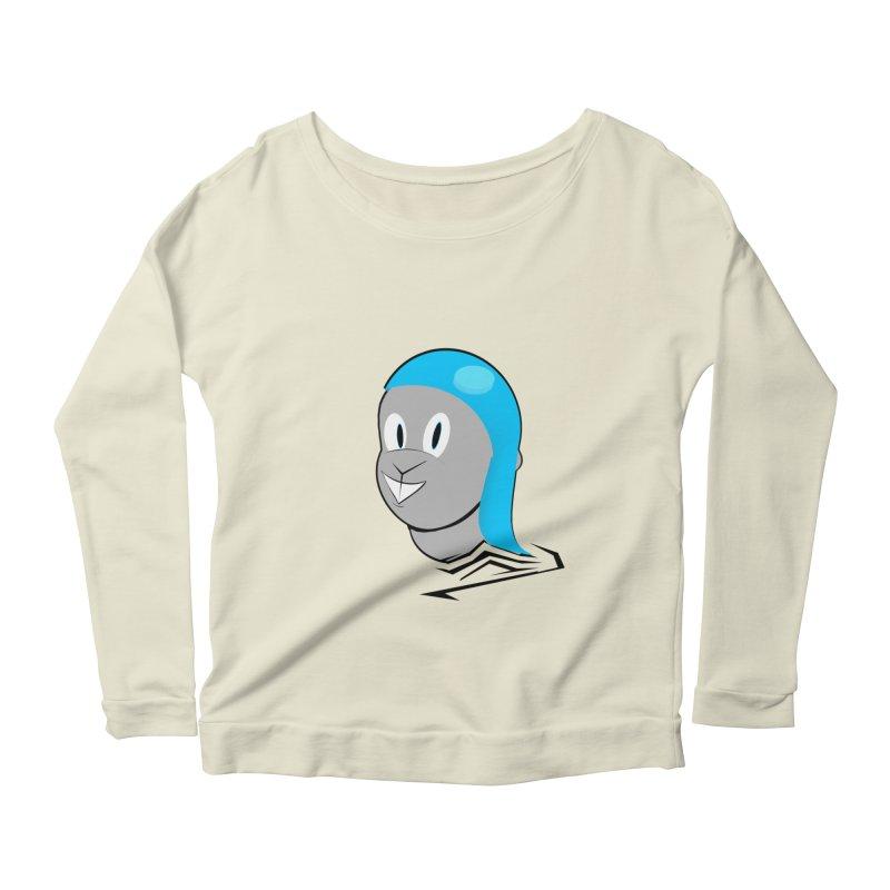 Rocky Women's Scoop Neck Longsleeve T-Shirt by TheImaginativeHobbyist's Artist Shop