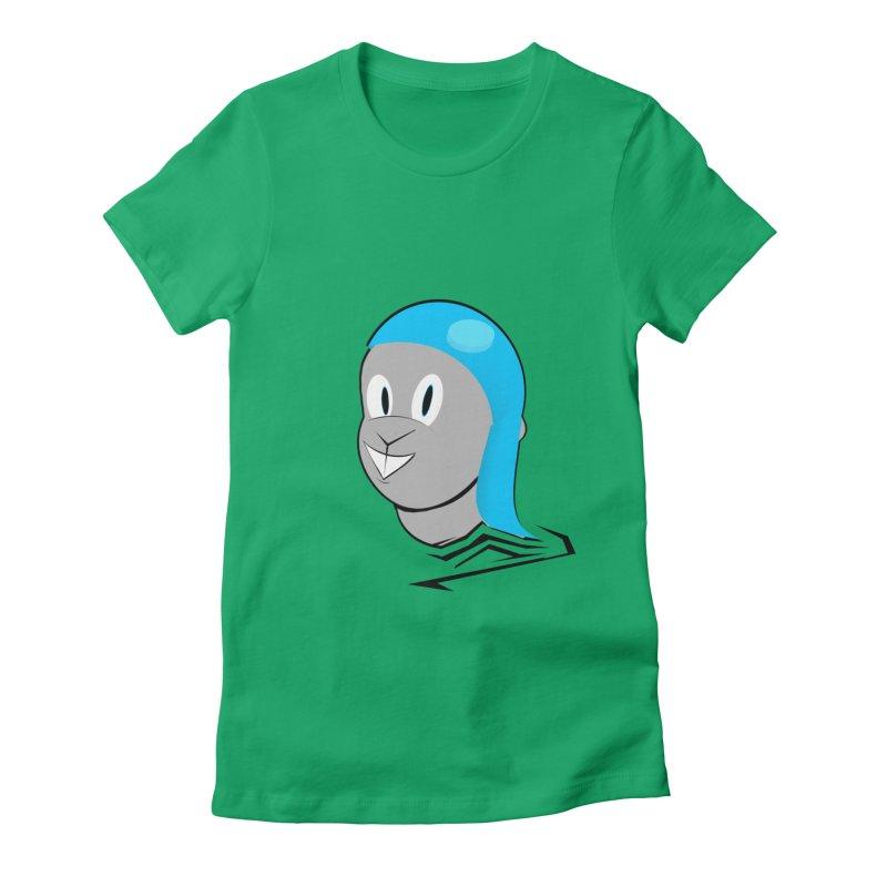 Rocky Women's Fitted T-Shirt by TheImaginativeHobbyist's Artist Shop
