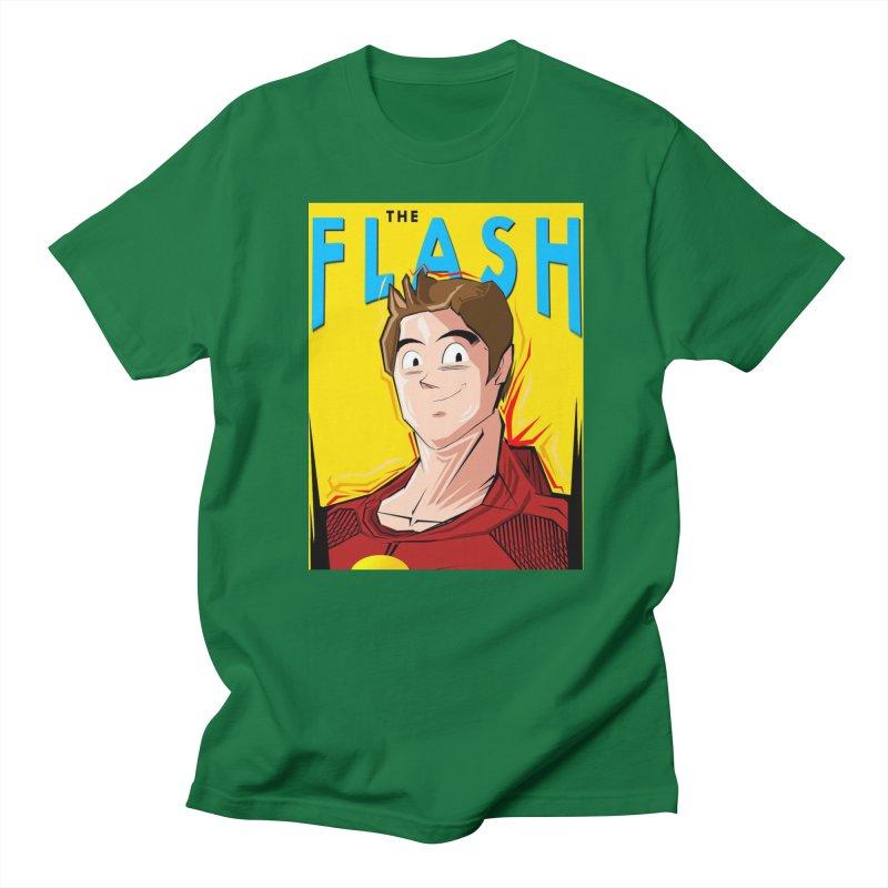 Dragonball Flash  Men's T-Shirt by TheImaginativeHobbyist's Artist Shop