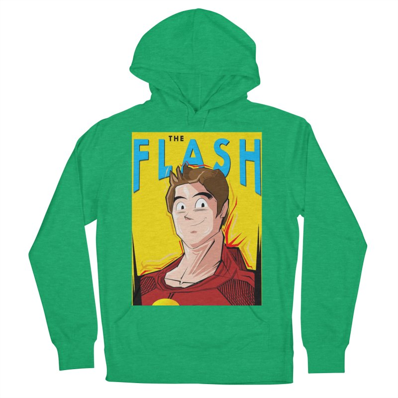 Dragonball Flash  Women's French Terry Pullover Hoody by TheImaginativeHobbyist's Artist Shop