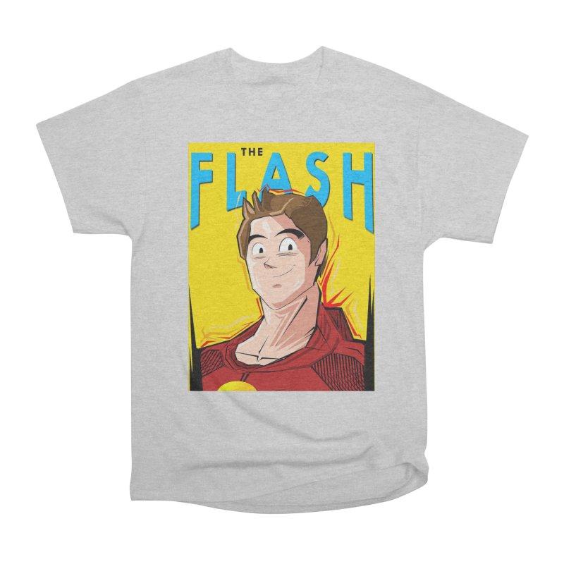 Dragonball Flash  Women's Heavyweight Unisex T-Shirt by TheImaginativeHobbyist's Artist Shop