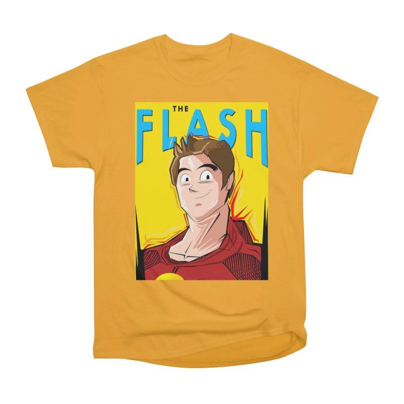 Dragonball Flash  Men's Heavyweight T-Shirt by TheImaginativeHobbyist's Artist Shop