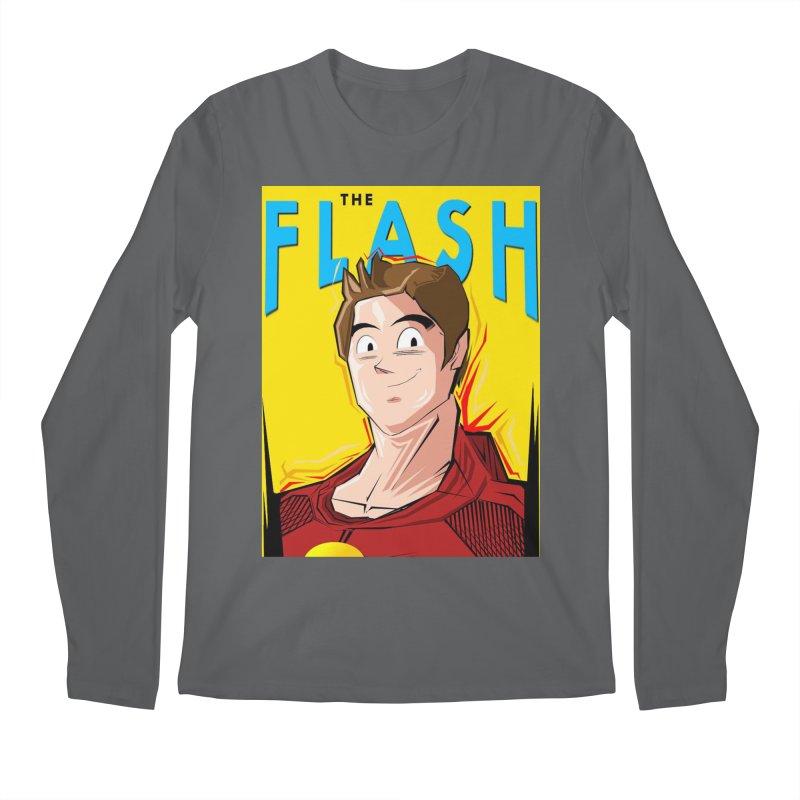 Dragonball Flash  Men's Longsleeve T-Shirt by TheImaginativeHobbyist's Artist Shop