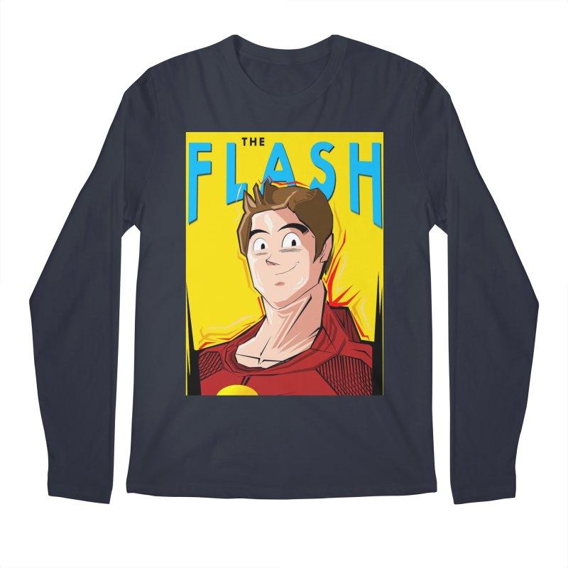 Dragonball Flash  Men's Regular Longsleeve T-Shirt by TheImaginativeHobbyist's Artist Shop