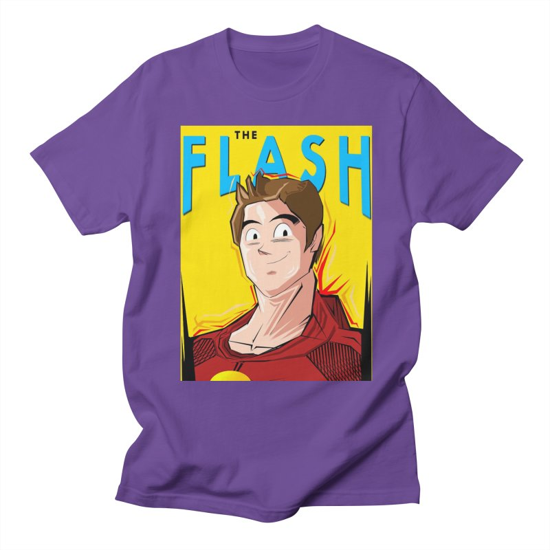 Dragonball Flash  Men's T-Shirt by TheImaginativeHobbyist's Artist Shop