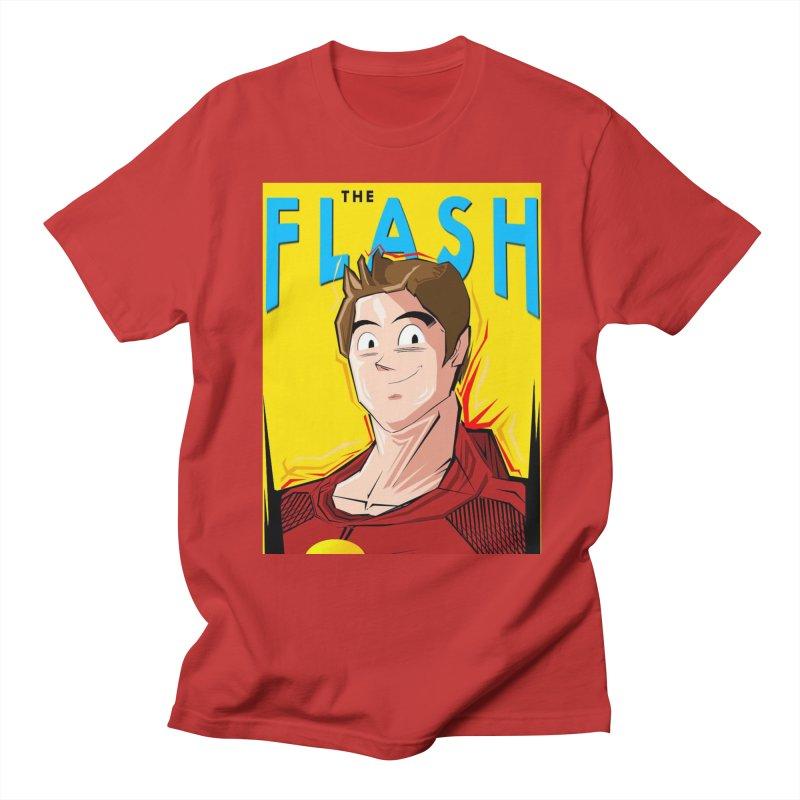 Dragonball Flash  Men's Regular T-Shirt by TheImaginativeHobbyist's Artist Shop