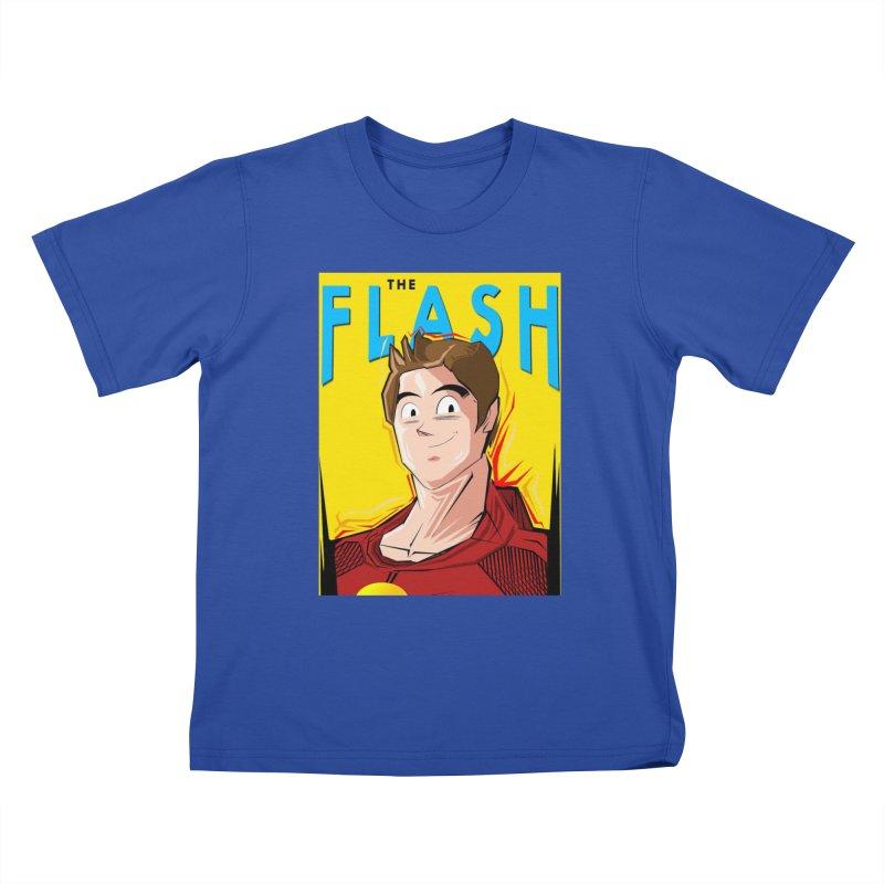 Dragonball Flash  Kids T-Shirt by TheImaginativeHobbyist's Artist Shop