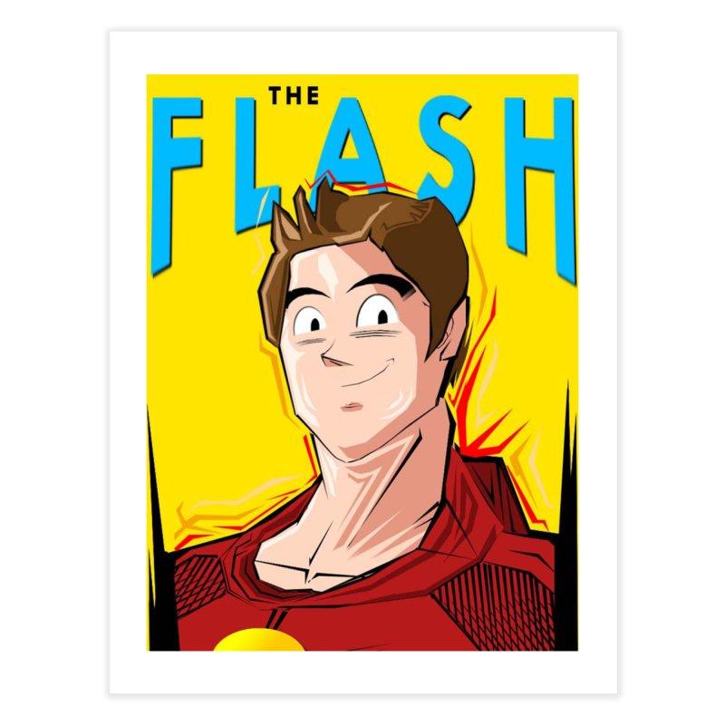 Dragonball Flash  Home Fine Art Print by TheImaginativeHobbyist's Artist Shop