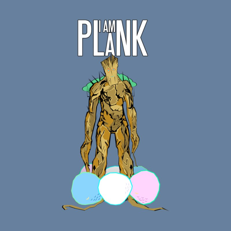 I AM PLANK Men's Longsleeve T-Shirt by TheImaginativeHobbyist's Artist Shop