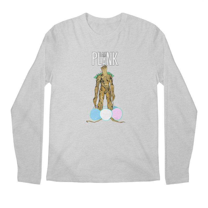 I AM PLANK Men's Longsleeve T-Shirt by TheImaginativeHobbyist's Artist Shop