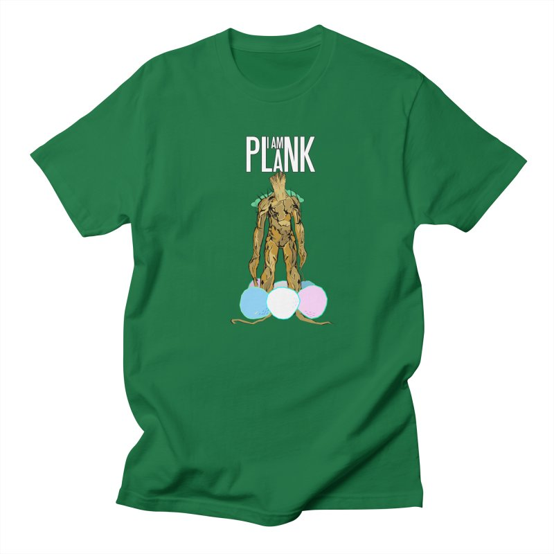 I AM PLANK Men's T-Shirt by TheImaginativeHobbyist's Artist Shop