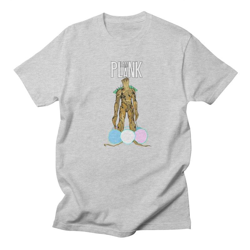 I AM PLANK Men's T-Shirt by TheImaginativeHobbyist's Artist Shop