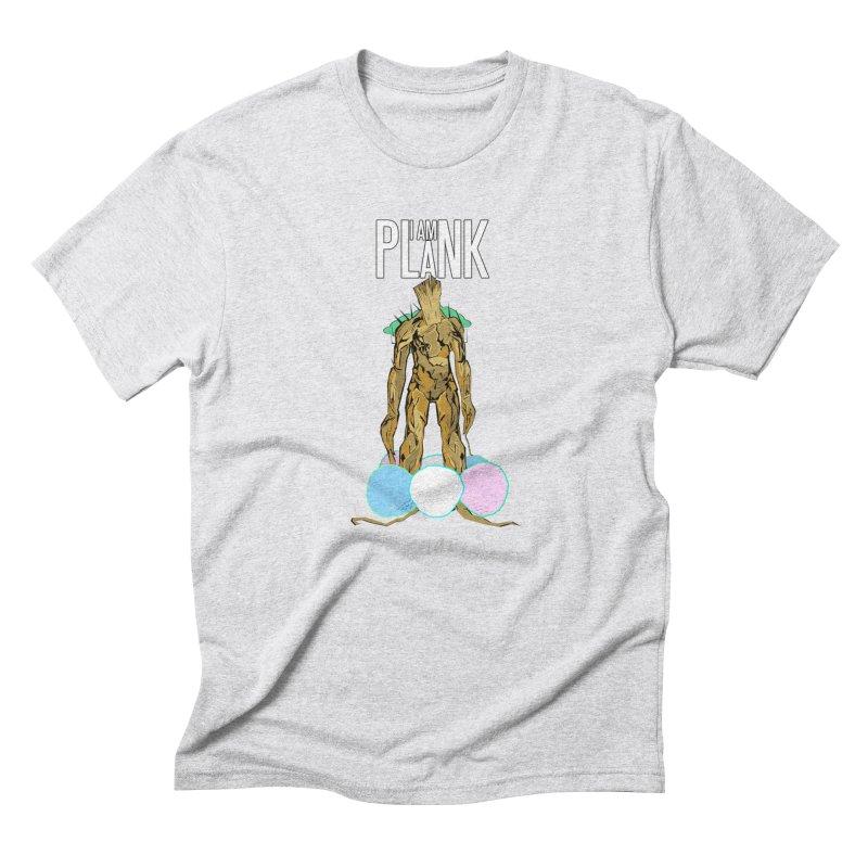 I AM PLANK Men's Triblend T-Shirt by TheImaginativeHobbyist's Artist Shop