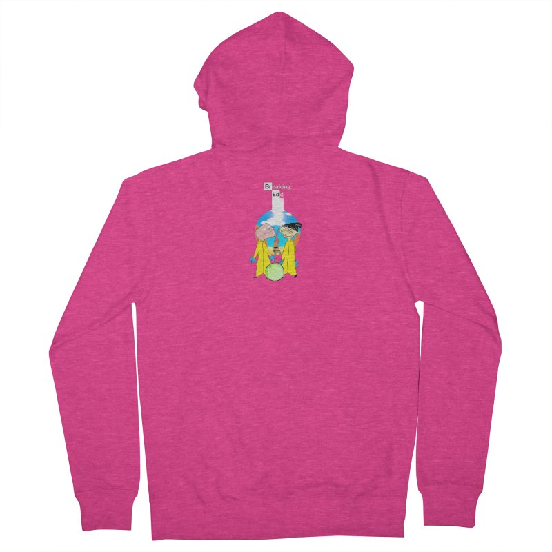 Breaking Edd Women's French Terry Zip-Up Hoody by TheImaginativeHobbyist's Artist Shop