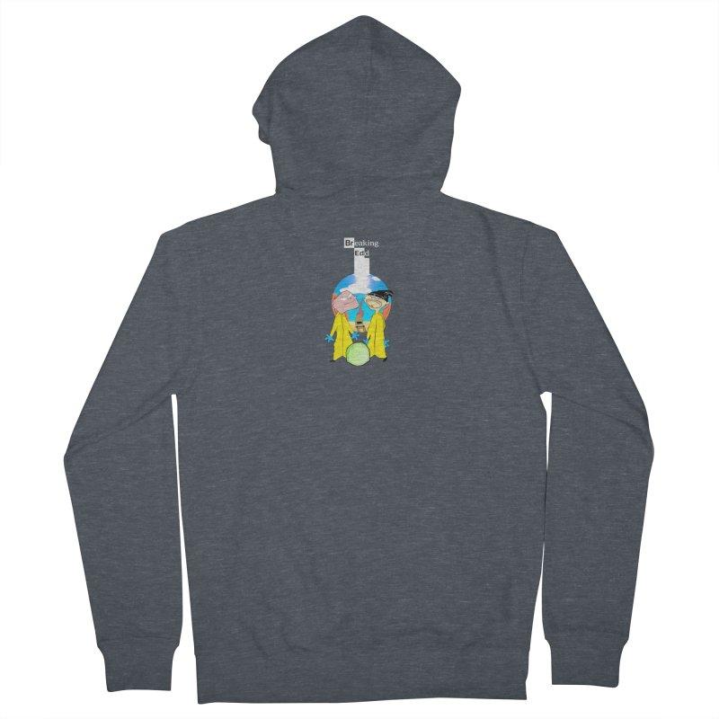 Breaking Edd Men's Zip-Up Hoody by TheImaginativeHobbyist's Artist Shop