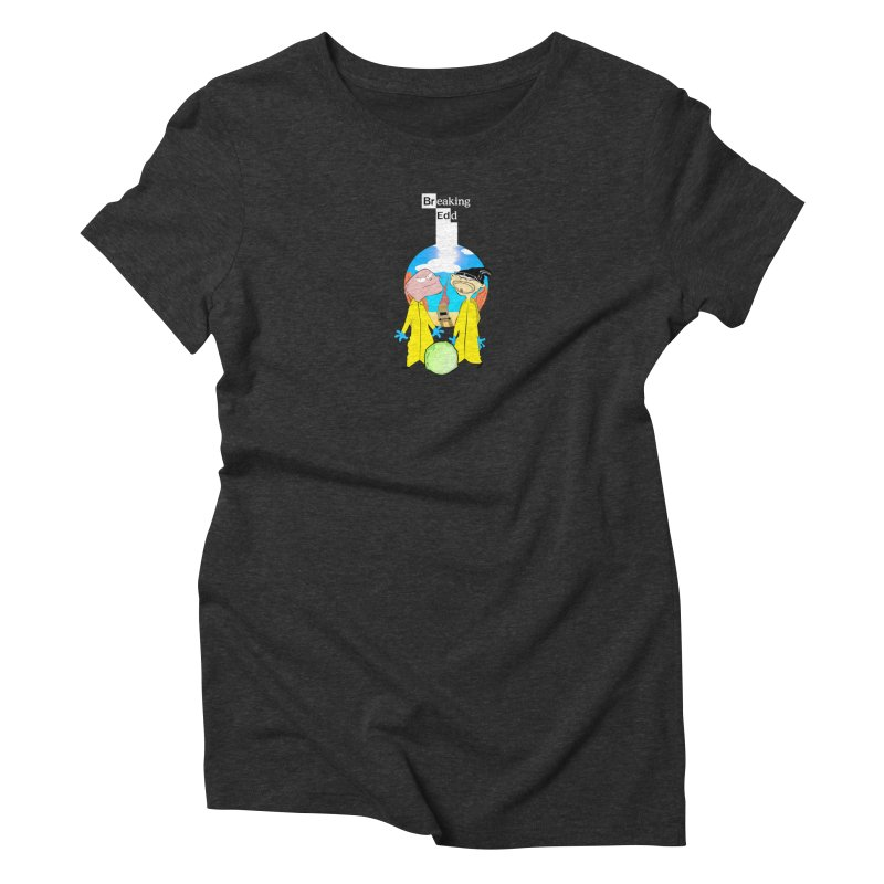 Breaking Edd Women's Triblend T-Shirt by TheImaginativeHobbyist's Artist Shop