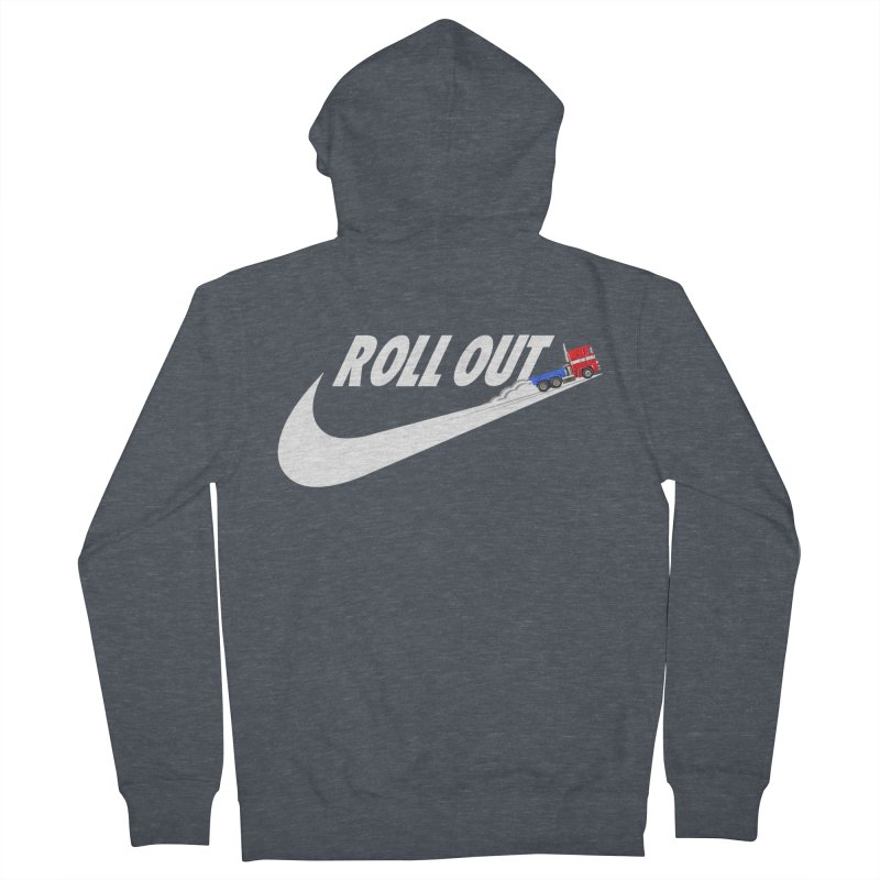 Roll Out Men's French Terry Zip-Up Hoody by TheImaginativeHobbyist's Artist Shop