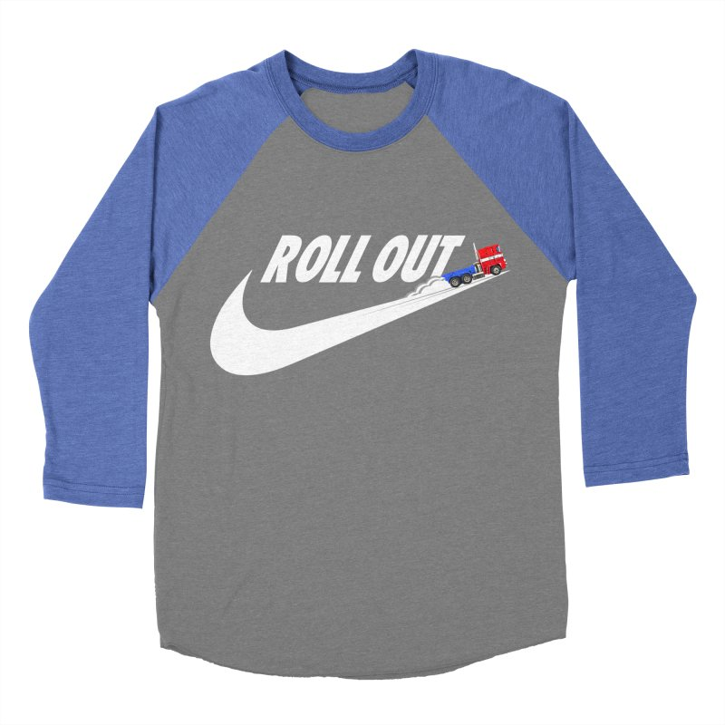 Roll Out Men's Baseball Triblend Longsleeve T-Shirt by TheImaginativeHobbyist's Artist Shop