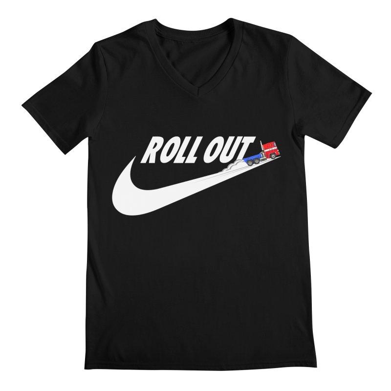 Roll Out Men's V-Neck by TheImaginativeHobbyist's Artist Shop