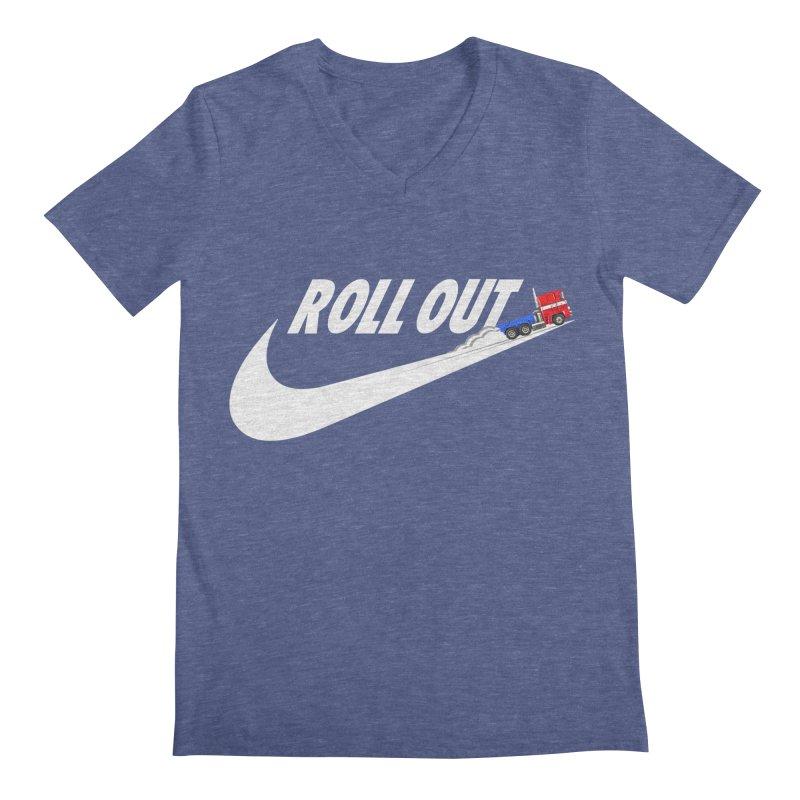 Roll Out Men's Regular V-Neck by TheImaginativeHobbyist's Artist Shop