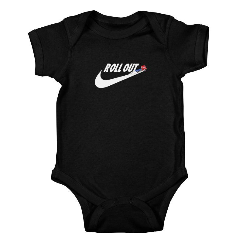 Roll Out Kids Baby Bodysuit by TheImaginativeHobbyist's Artist Shop