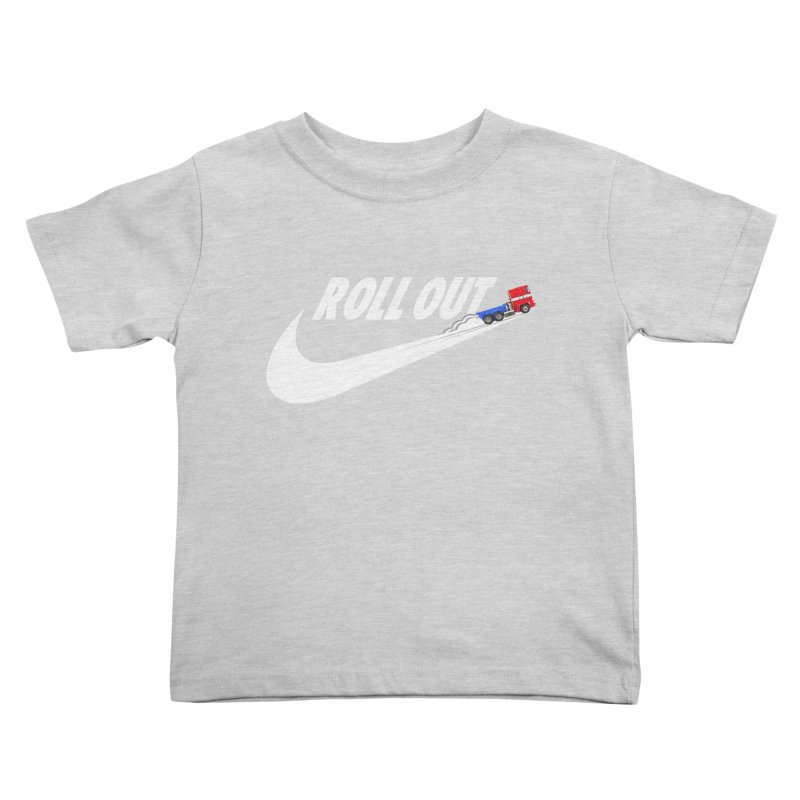Roll Out Kids Toddler T-Shirt by TheImaginativeHobbyist's Artist Shop