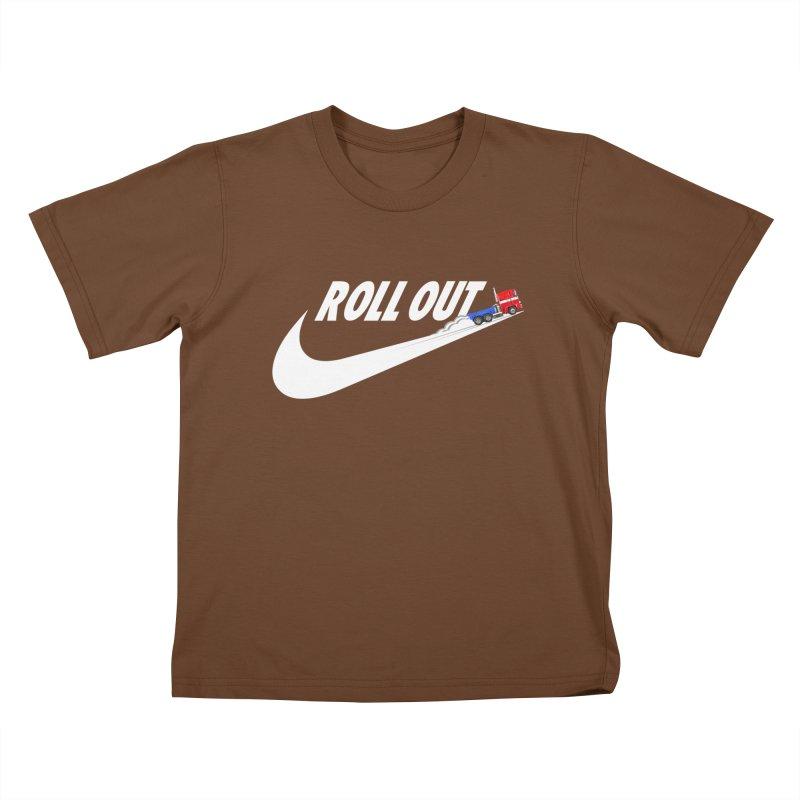 Roll Out Kids T-Shirt by TheImaginativeHobbyist's Artist Shop