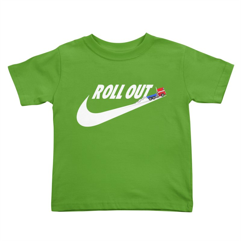 Roll Out Kids Toddler T-Shirt by TheImaginativeHobbyist's Artist Shop