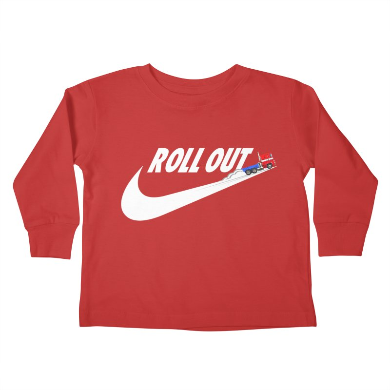 Roll Out Kids Toddler Longsleeve T-Shirt by TheImaginativeHobbyist's Artist Shop