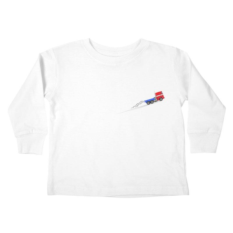 Roll Out Kids Toddler Longsleeve T-Shirt by TheImaginativeHobbyist's Artist Shop