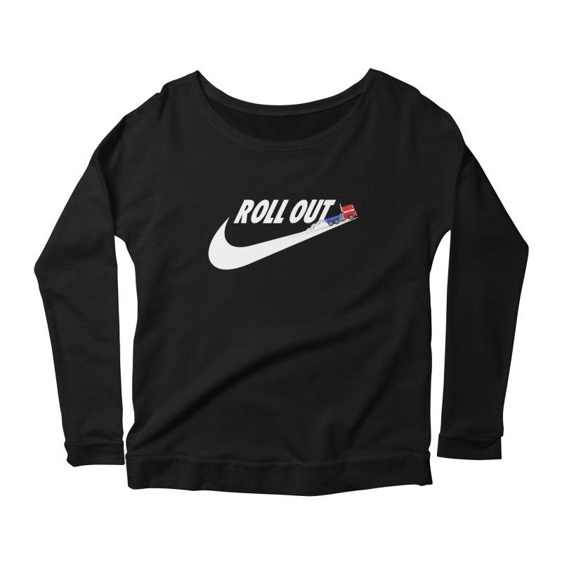 Roll Out Women's Scoop Neck Longsleeve T-Shirt by TheImaginativeHobbyist's Artist Shop