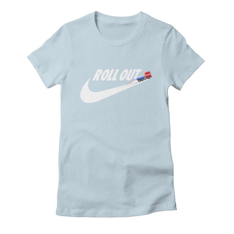 Roll Out Women's Fitted T-Shirt by TheImaginativeHobbyist's Artist Shop