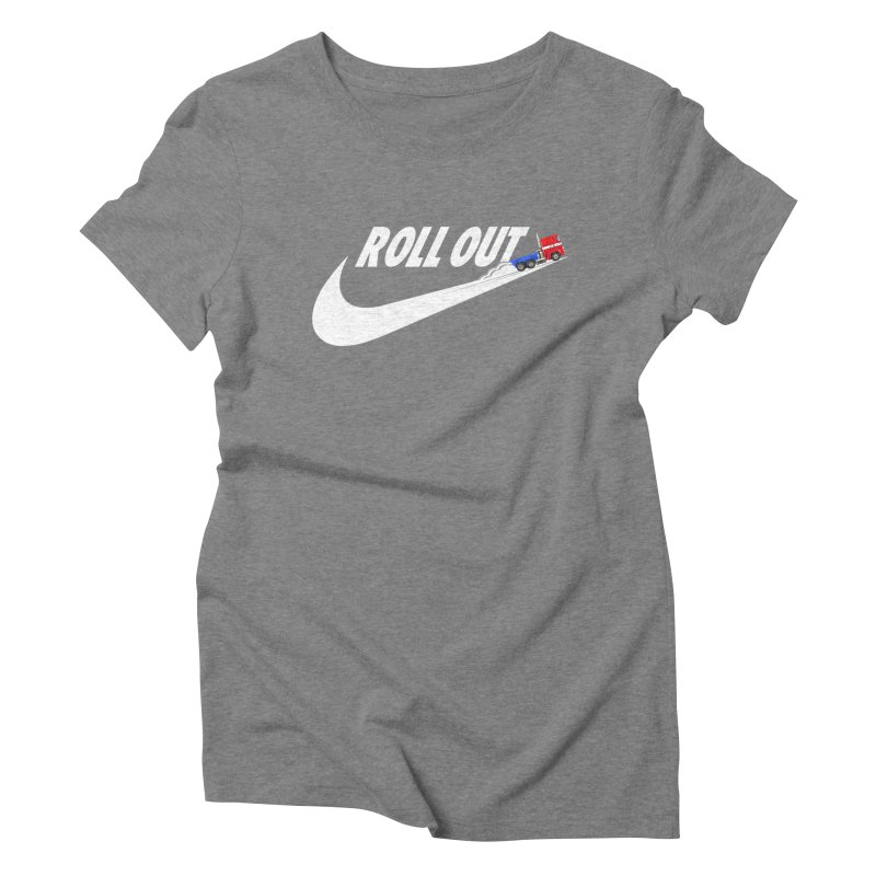 Roll Out Women's Triblend T-Shirt by TheImaginativeHobbyist's Artist Shop