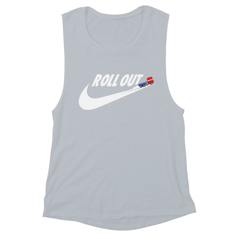 Roll Out Women's Muscle Tank by TheImaginativeHobbyist's Artist Shop