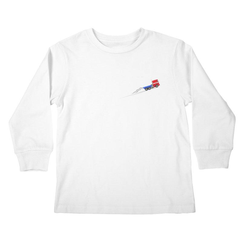 Roll Out Kids Longsleeve T-Shirt by TheImaginativeHobbyist's Artist Shop