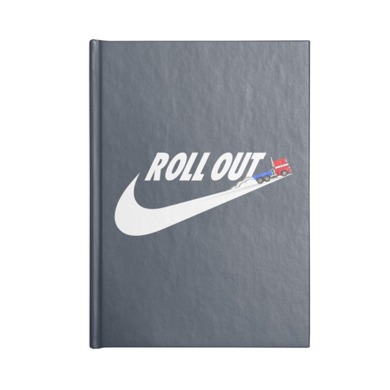 Roll Out Accessories Blank Journal Notebook by TheImaginativeHobbyist's Artist Shop