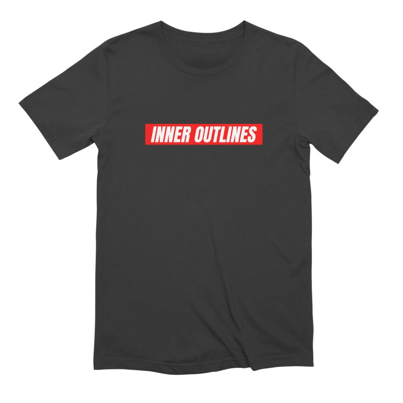 The Red Box Men's T-Shirt by Inner Outlines Artist Shop