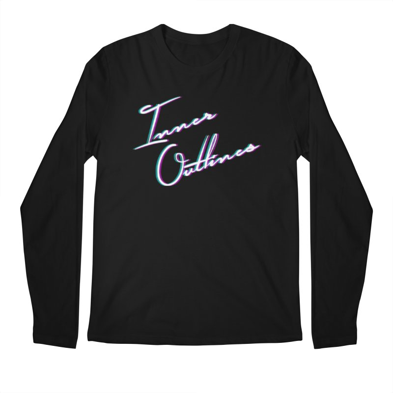 The Glitch Men's Longsleeve T-Shirt by Inner Outlines Artist Shop