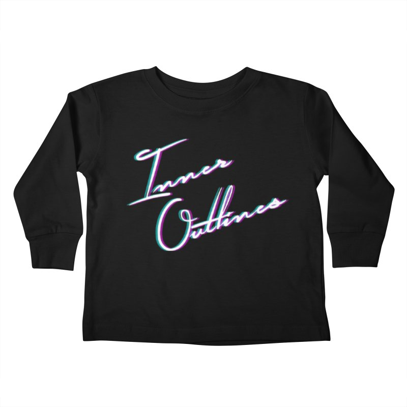 The Glitch Kids Toddler Longsleeve T-Shirt by Inner Outlines Artist Shop
