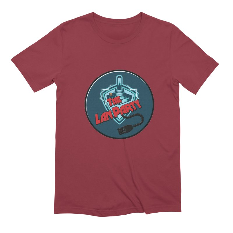 The Lan Party! Men's T-Shirt by The Lan Party Talk Show