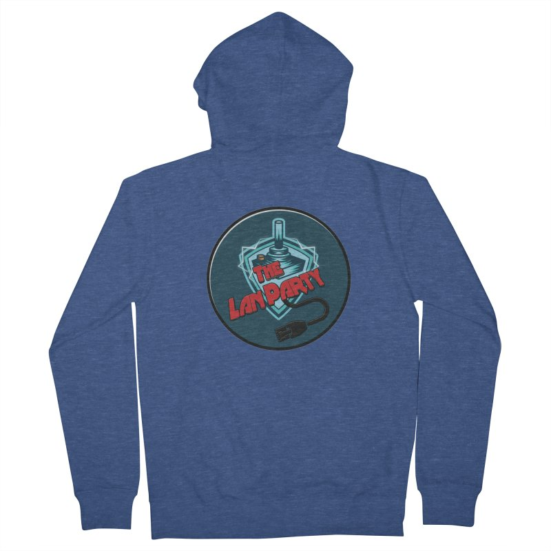 The Lan Party! Men's Zip-Up Hoody by The Lan Party Talk Show