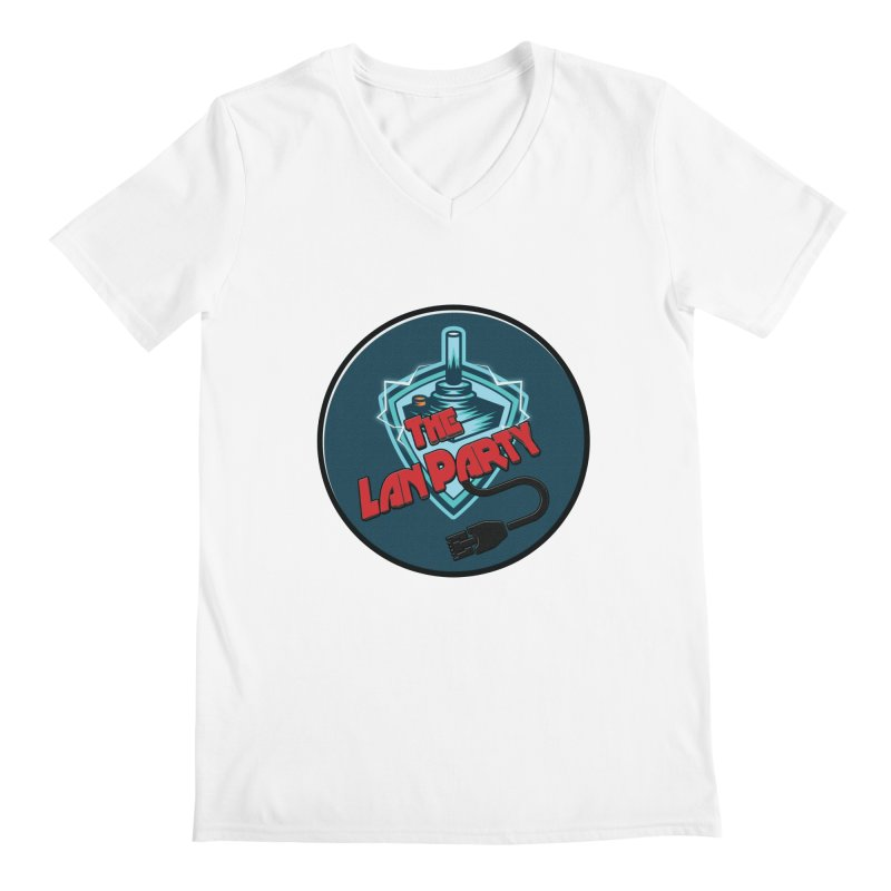 The Lan Party! Men's V-Neck by The Lan Party Talk Show