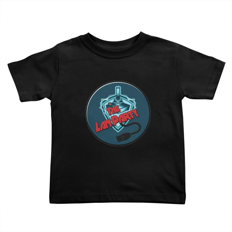 The Lan Party! Kids Toddler T-Shirt by The Lan Party Talk Show