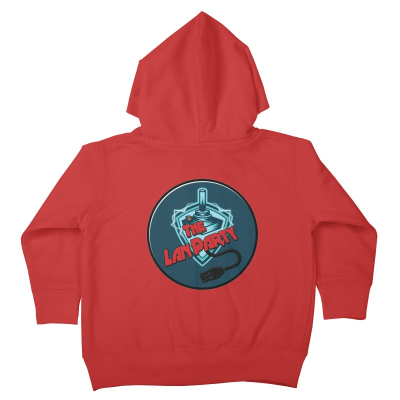 The Lan Party! Kids Toddler Zip-Up Hoody by The Lan Party Talk Show