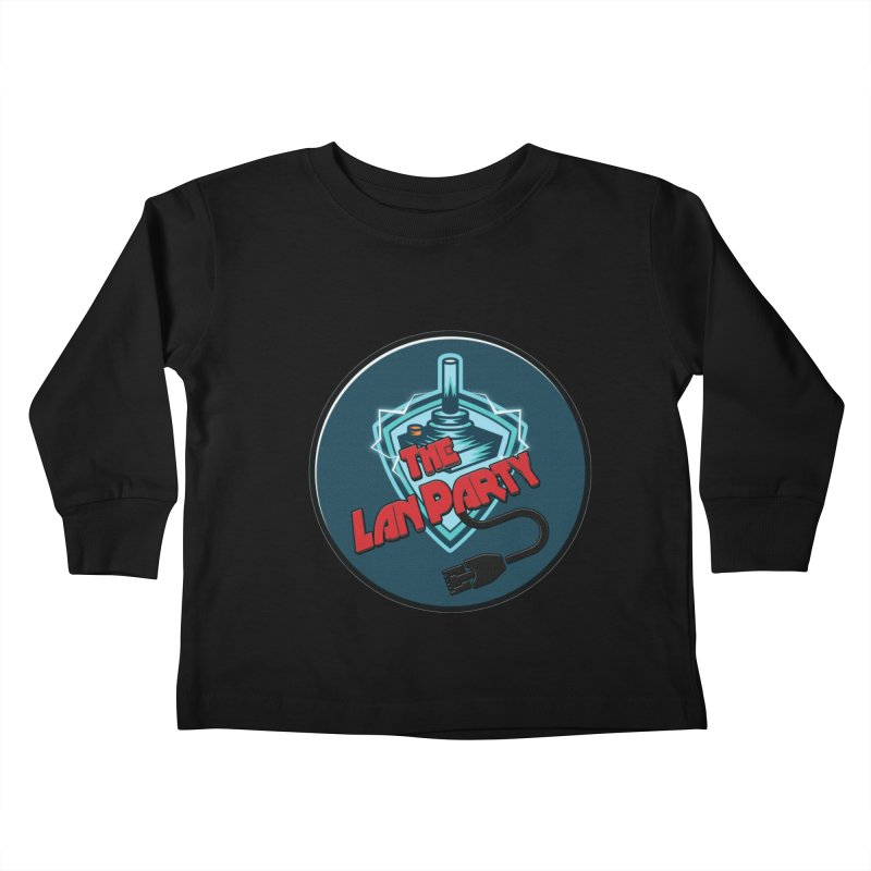 The Lan Party! Kids Toddler Longsleeve T-Shirt by The Lan Party Talk Show
