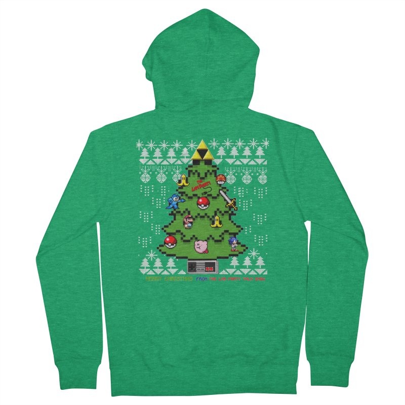 Retro Holiday shirt Women's Zip-Up Hoody by The Lan Party Talk Show
