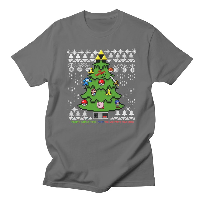 Retro Holiday shirt Men's T-Shirt by The Lan Party Talk Show